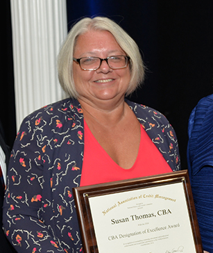 Susan Thomas, Credit Management, credit business associate, cba