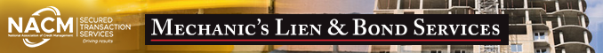 mechanics lien, bond services, mechanics's liens