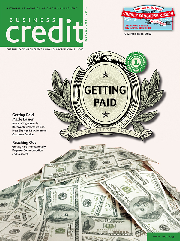 Business Credit Magazine July - Aug 2015