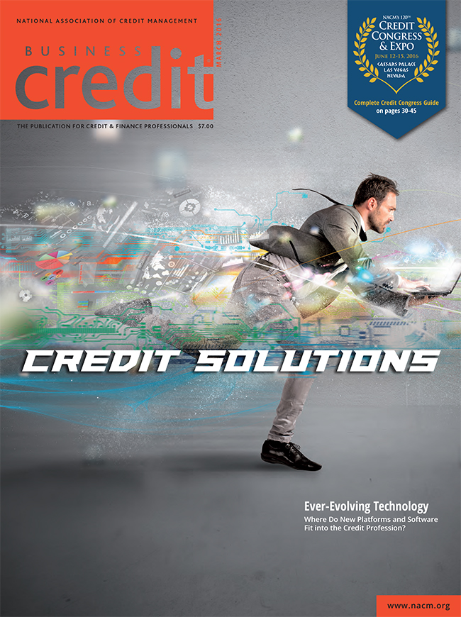 Business Credit Magazine March 2016