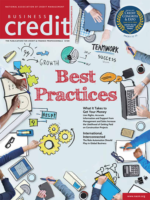 Business Credit Magazine Nov - Dec 2015