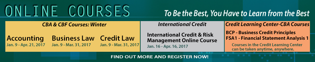 Online Courses: Business Law, Credit Law, International Credit Risk Management